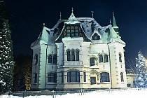 Riedelova vila dnes.
