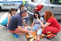 V pondělí se krátce po poledni v Jablonci nad Nisou uskutečnila dopravně preventivní akce zaměřená na poskytování první pomoci ze strany řidičů motorových vozidel.