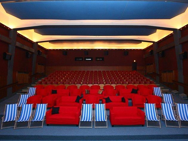 Interiér KC Kino Železný Brod