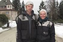Klára Nosková a Lukáš Kaštovský se dali na kominičinu a neměnili by.