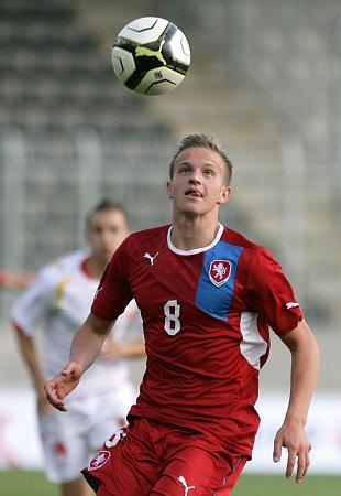 Jan Kopic vutkání proti Černé Hoře vJablonci.