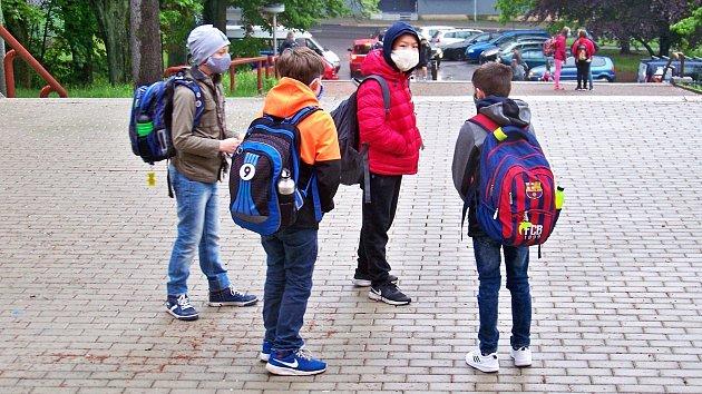 Jablonec nad Nisou, znovuotevření základní škol, 25. května 2020