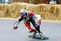 Downhill skateboarding Challenge.