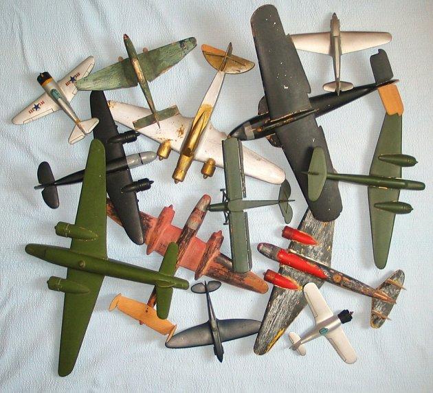 Modely letadel z firmy Schowanek