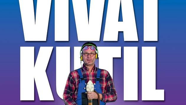 Výřez plakátu výstavy Viva Kutil