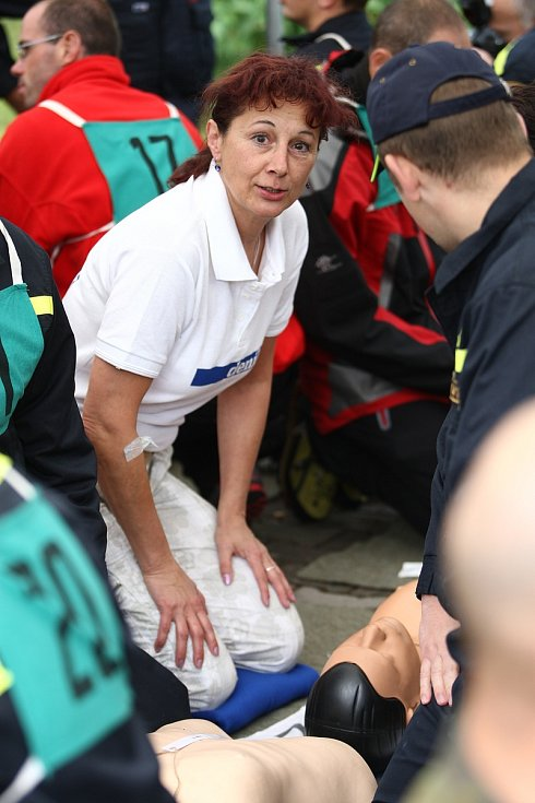 Rekord v resuscitaci se v Jablonci v roce 2012 podařil.