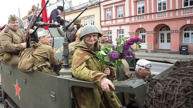 Jízda válečných veteránů na Jablonecku.
