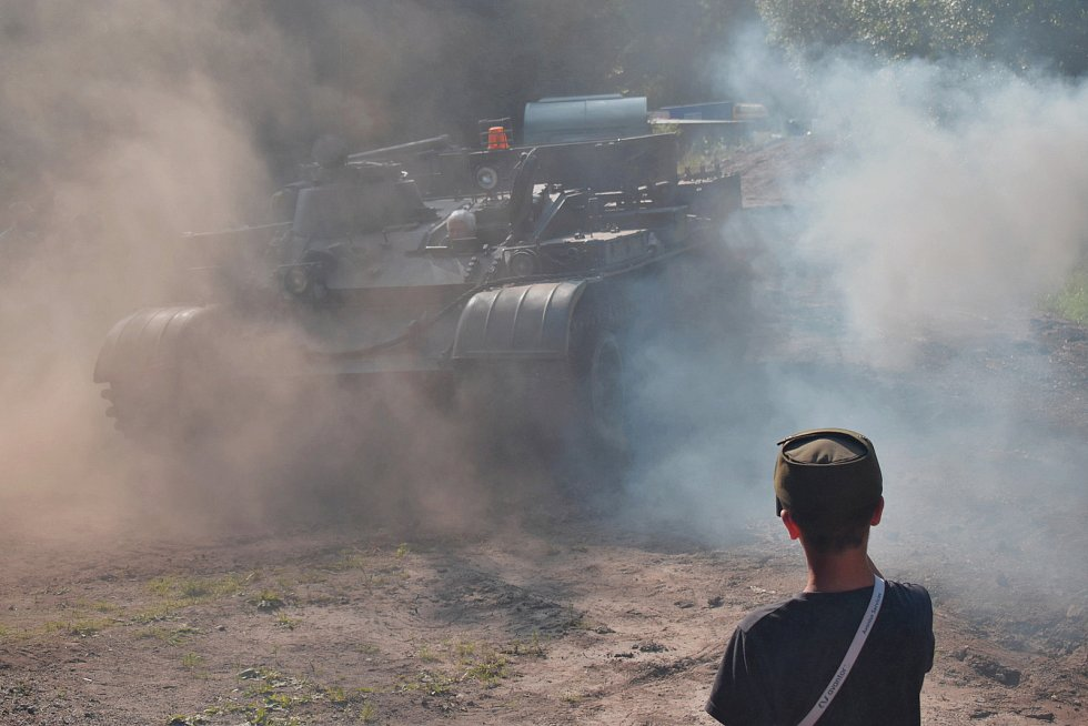 Tankové dny v Muzeu obrněné techniky Smržovka