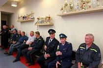 Otevření nové hasičárny SDH Tanvald Šumburk.
