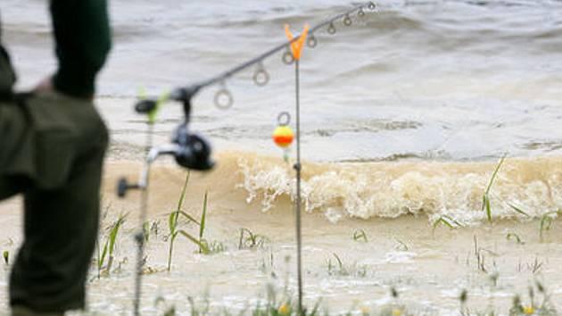 Rybářské vybavení. Ilustrační snímek.