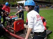 Sbor dobrovolných hasičů Zlatá Olešnice ve Velkých Hamrech.