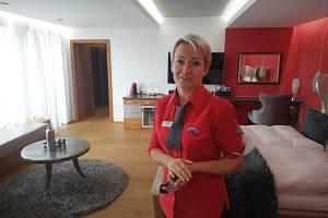 Alena Malá, provozovatelka příchovického hotelu V Nebi.