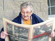Anna Bučinová z Jablonce vzpomíná na události 1968 a dobový tisk.