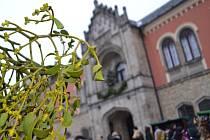 Vyhlášenými adventními trhy v Libereckém kraji jsou na Sychrově.