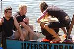 Závody dračích lodí na jablonecké přehradě, 2010.