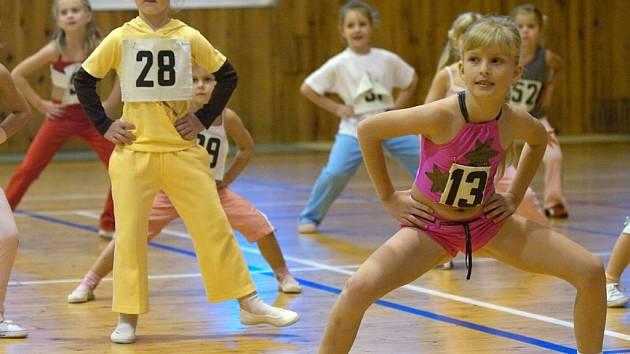 S číslem 13 cvičila také Gabriela Velimská