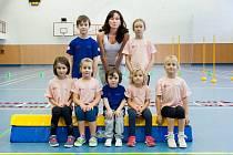 Jana Boučková s dětmi