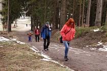 Z výletu na vyhlídku Špička nad Tanvaldem.