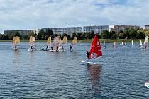45 .ročník tradičního závodu SKI REGATA na Jablonecké přehradě.