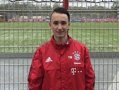 fotbalová naděje kategorie U14, člen reprezentačního týmu U14, má o něj zájem Bayern Mnichov hraje za mládež FK Jablonecfoto
