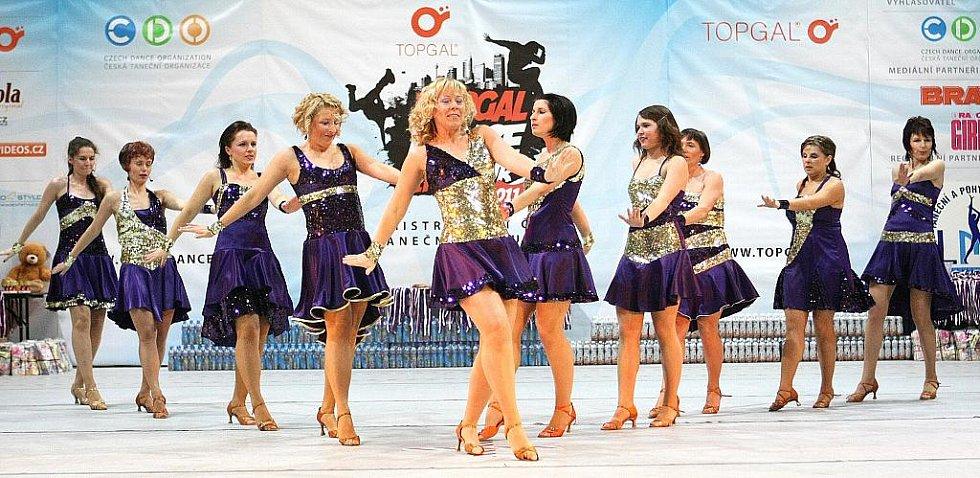 Topgall Dance Live Tour 2011 - mistrovství České republiky tanečních skupin - oblastní kolo v Jablonci nad Nisou.