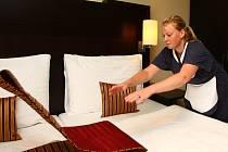 Hotelové služby. Ilustrační snímek.