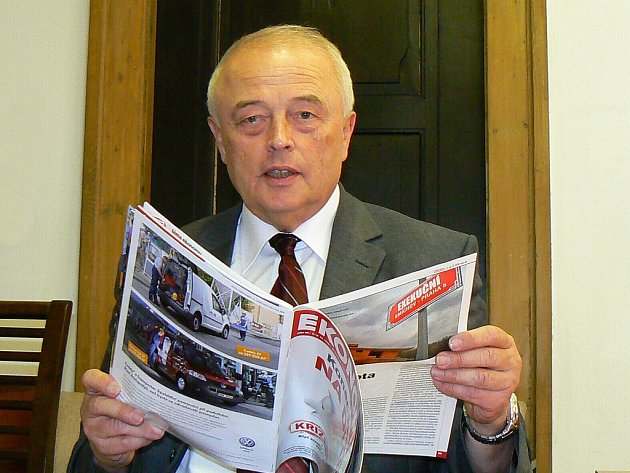 Vladimír Opatrný, daňový odborník a předseda Okresní hospodářské komory Jablonec nad Nisou