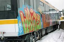 Graffiti. Ilustrační snímek.