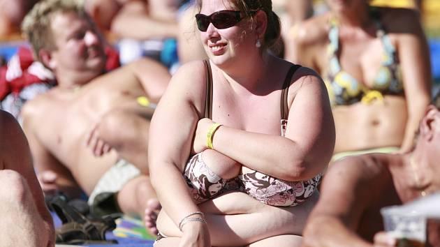 Obezita je problém - ilustrační snímek