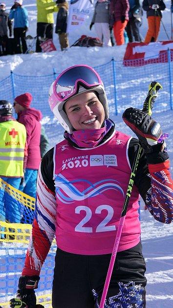 Úspěšná jablonecká ski crosařka Diana Cholenská předvedla vynikající jízdu na Olympijských hrách mládeže a vybojovala vtěžké konkurenci stříbrnou medaili.