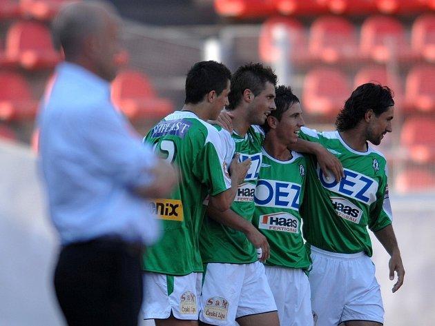 Fotbalisté Jablonce se mohou těšit do prvního kola poháru UEFA.