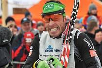 Jizerská padesátka 2011. Závod vyhrál Nor Anders Aukland.