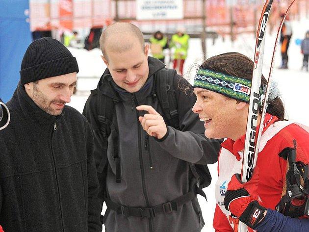 Jizerská padesátka 2011. Zuzana Kocumová.