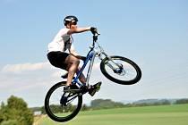 Bike park v Zásadě.