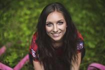 Kristýna Švadlenová ze Smržovky obsadila krásné třetí místo v soutěži Miss hasička Československo 2017.