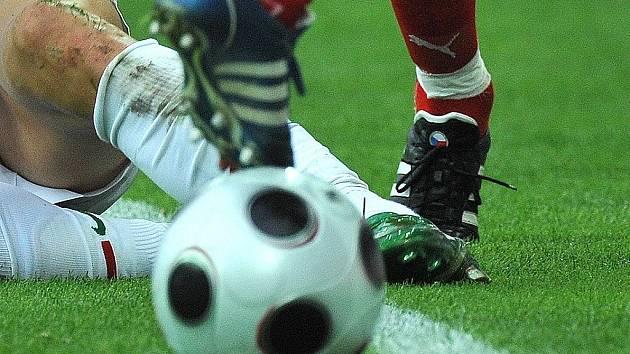 Fotbal. Ilustrační obrázek.