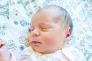 BARBORA STŘELÁKOVÁ se narodila v pondělí 19. března v jablonecké porodnici mamince Veronice Střelákové z Liberce. Měřila 46 cm a vážila 2,77 kg.