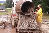 Oprava kořenové čističky v Zásadě