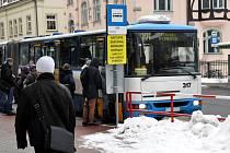 16. ÚNORA dojde ke změně a náhradní autobusová doprava po dobu výluky tramvajové trati bude jezdit až na autobusové nádraží.