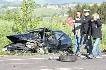Tragická nehoda u Rychnova.