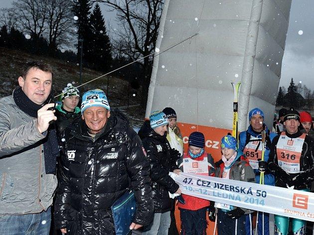 Hejtman Martin Půta startuje Jizerskou 50. Loni se kvůli nedostatku sněhu nejela