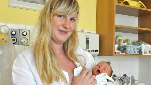 Anežka Vybíralová se narodila Pavlíně a Alešovi Vybíralovým z Liberce 28.6.2015. Měřila 50 cm a vážila 3300 g.