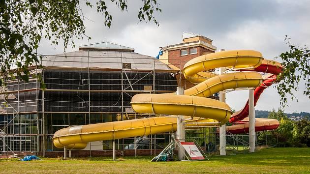 Jablonecký bazén prošel nedávno rekonstrukcí, archivní foto.