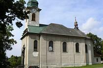 Kostel sv. Václava Harrachov.