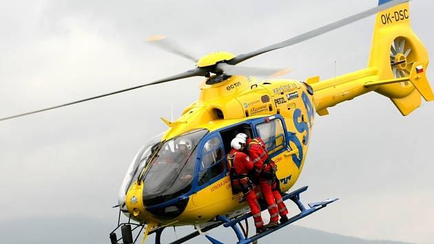 Vrtulník ZZS LK