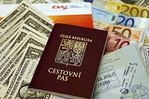 Dovolená a turistika. Cestovní doklady.