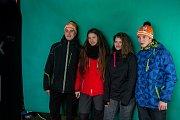 Závod v klasickém lyžování, Hervis Jizerská 25, proběhl 17. února v Bedřichově na Jablonecku v rámci série závodů Jizerské padesátky. Hlavní závod na 50 kilometrů zařazený do seriálu dálkových běhů Ski Classics se pojede 18. února 2018. Na snímku je dopro