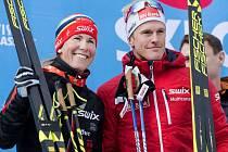 Kateřina Smutná a Morten Eide Pedersen vyhráli jubilejní Jizerskou padesátku