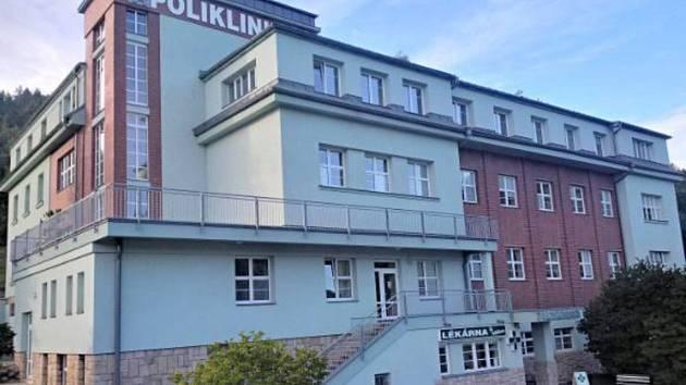 Poliklinika Železný Brod.