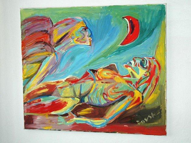 """Hana Fousková bývá označována jako """"prokletá básnířka a malířka"""", toto označení dobře vystihuje její životní osud a poetiku tvorby."""